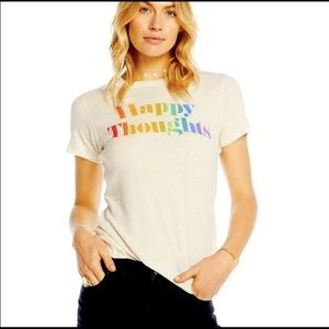"""Chaser """"HAPPY THOUGHTS"""" T Shirt"""